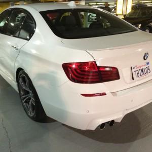 BMW M5 Hertz SFO