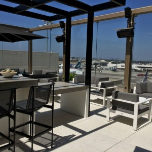 LAX Star Alliance Business Class Lounge (Outdoor Patio)