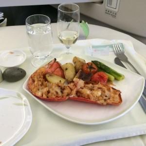 Lobster Thermidor & Dom Perignon