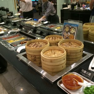 EVA Air Lounge TPE Food