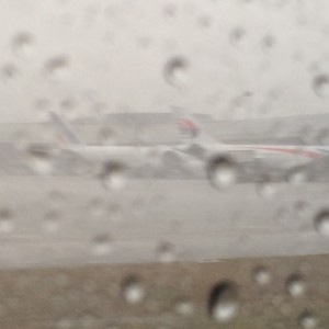 Rainy at KUL