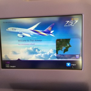 New IFE (Wrong Plane---Not a 787)