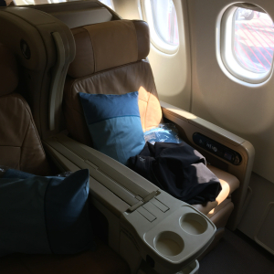 SQ A330 Business Class