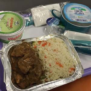 SriLankan Airlines Meal