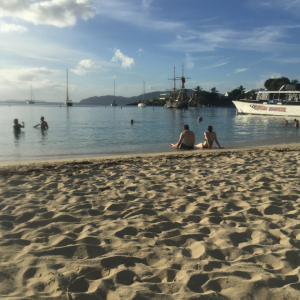 Beach during Snorkeling trip