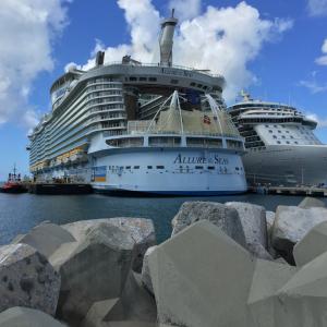 Docked @ St. Maarten