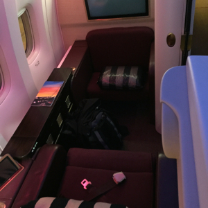 Etihad Suite Class (Jet Airways Plane)