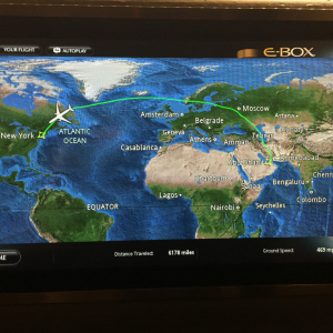 14hr Flight Path