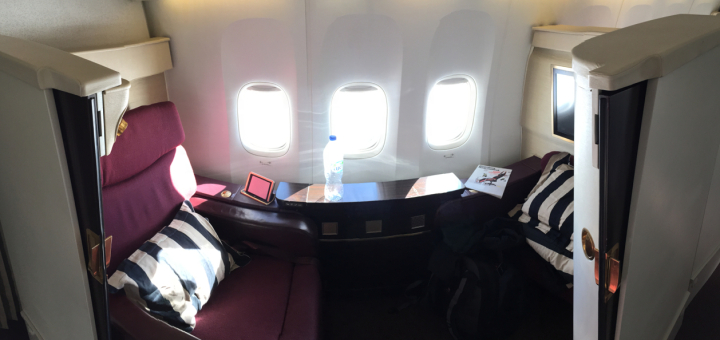 Panorama of Suite 2A