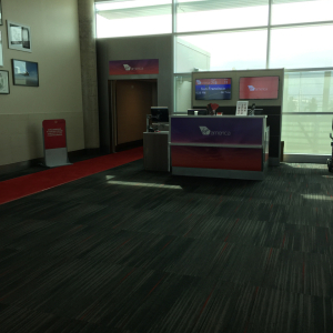 Virgin America DAL Gate