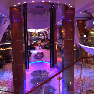 Interior of Ship