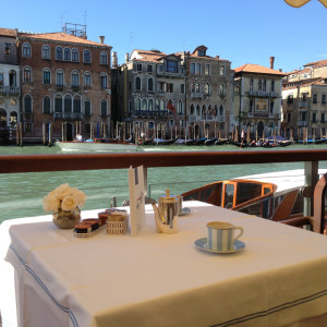 Breakfast @ The Gritti Palace