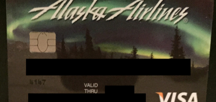 Alaska Airlines Visa Signature
