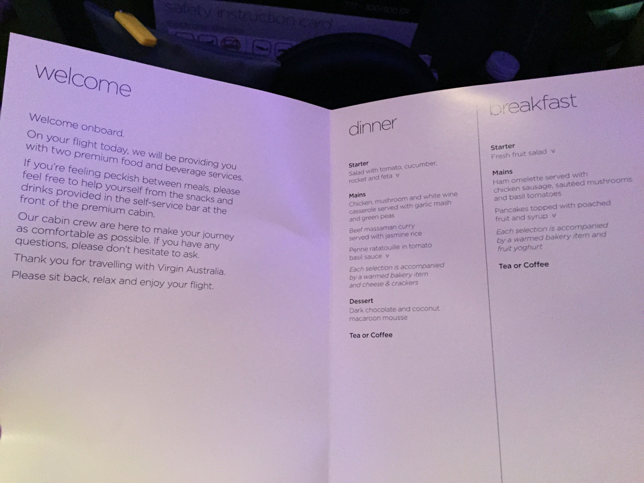 Virgin Australia Premium Economy: LAX-SYD VA2 – Palo Will Travel