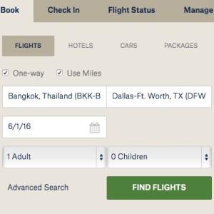 Booking on alaskaair.com
