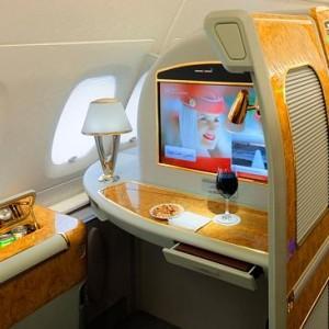 Emirates A380 Suite