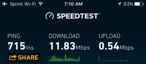Speedtest Inflight