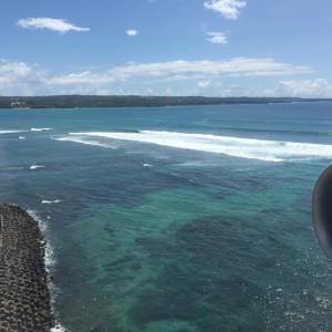 Landing in Bali!