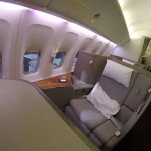 Cathay Pacific First Class B777-300ER