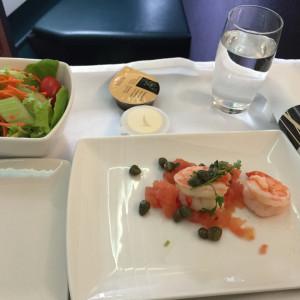Prawns & Salad