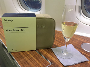 Krug & Aesop Amenity Kit