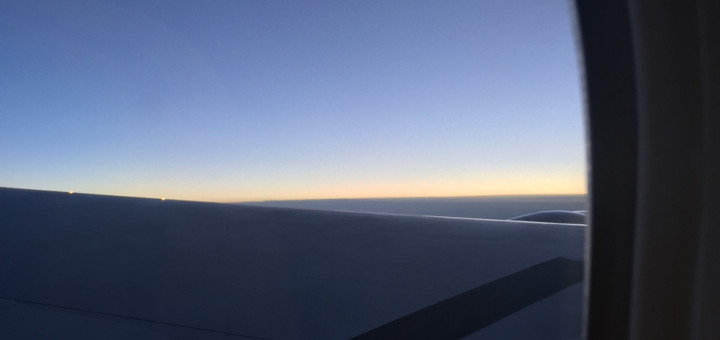 Sunrise from ANA 777