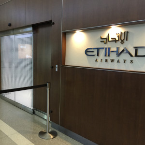 Etihad Lounge IAD Entrance