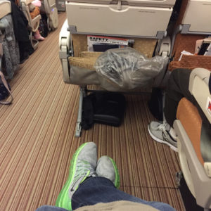 Singapore Airlines Best Seat on the A380 (48D)
