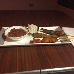 Singapore Chicken and Lamb satay