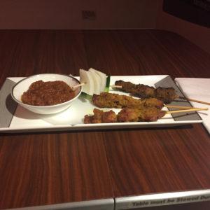 Singapore Chicken and Lamb satay