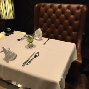 The Private Room Dining Seating