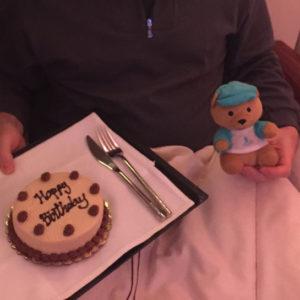 Birthday Cake & SQ Bear!