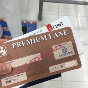 Premium Lane Card @ BKK