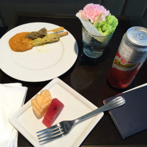 Food @ Emirates Lounge BKK