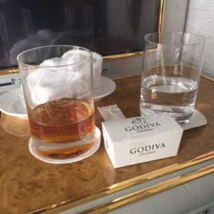 Godiva and Hennessy Paradis