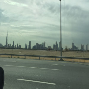 Burj Khalifa and Dubai Skyline