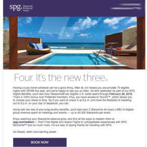 SPG 75 Night Email
