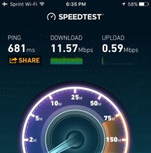 Fast Free WiFi