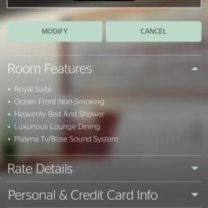 Royal Suite Upgrade @ Westin Fiji
