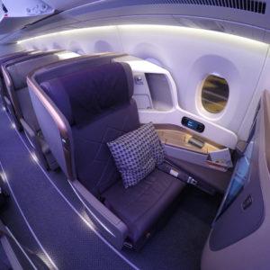 SQ A350 - Seat 14A