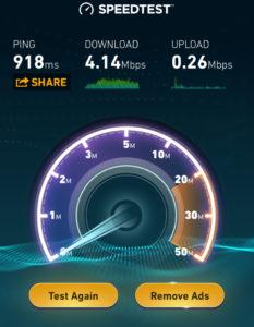 Fast Satellite WiFi
