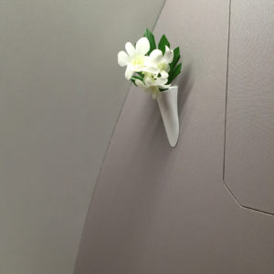 Fresh Flower in Restroom