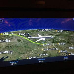 Landing in Düsseldorf