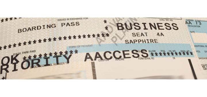 AA Biz Boarding Pass