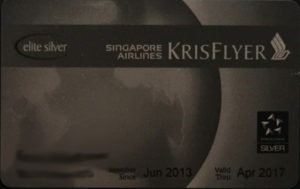Singapore Silver (Star Alliance)