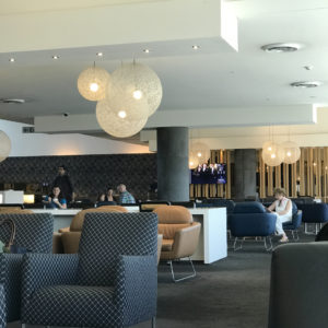 Qantas SYD Domestic Lounge Seating