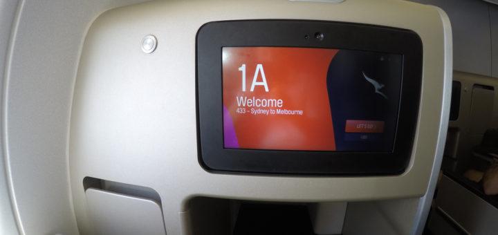 Seat 1A Qantas A330