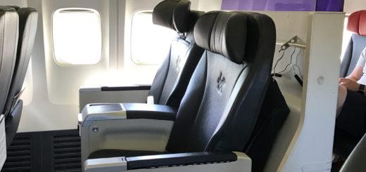 VA 737-800 Business Class