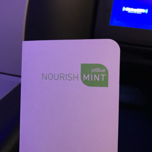 Mint Class Menu