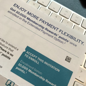 Extended Payment Option Offer